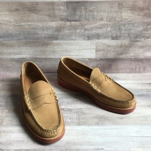 Bass Leather Waldo Penny Loafers